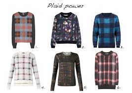plaid sweater mad for plaid style barista