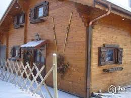 chalet 5 chambres à louer location chalet dans un domaine à gérardmer iha 24156