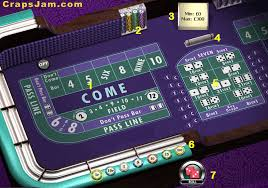 Craps Table Table Layout
