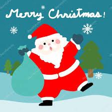 imagenes de santa claus feliz navidad vector de dibujos animados feliz navidad santa claus archivo