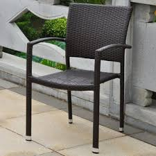 Stackable Patio Furniture Set Patio Dining Chairs You U0027ll Love Wayfair