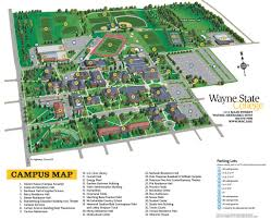 Nebraska State Map by Wayne State College Maplets