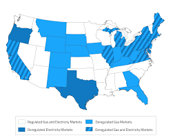 Where Is Ohio On The Map by Map Of Deregulated Energy States Updated 2017 U2013 Electric Choice