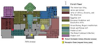 Museum Floor Plan Robert Goldwater Library Floor Plans