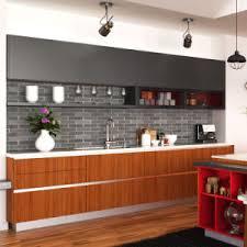 kitchen furniture price china oppein competitive price style wood grain pvc kitchen