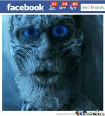 White Walker Meme - white walker facebook profile duckface pic by anleu22 meme center