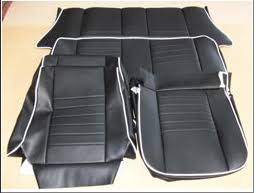 siege mini rover mini front rear seat covers without headrest