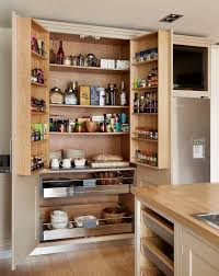 Furniture Kitchen Pantry Handy Kitchen Pantry Designs With A Lot Of Storage Room