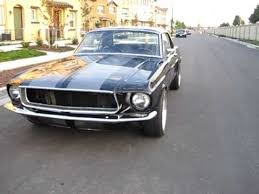 68 mustang black 1968 black ford mustang walkaround