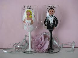 how to decorate wine glasses for wedding how to decorate wine