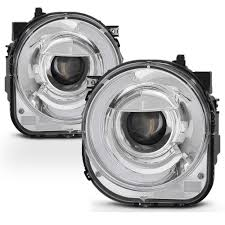 jeep renegade accessories 15 17 jeep renegade led drl tube mono eye projector headlights