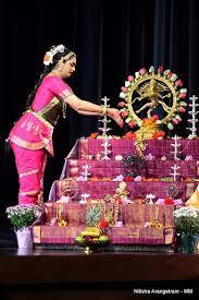 arangetram decoration a soul filling debut by nithisha prasad
