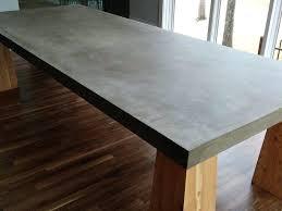 concrete wood table top concrete kitchen table concrete table tops faux concrete kitchen