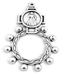 catholic rosary ring indestructible catholic rosary ring pack of 5