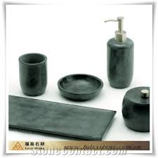 green marble natural stone bathroom accessories india green
