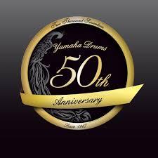 yamaha emblem yamaha 50th anniversary drum set personifies company u0027s legacy of