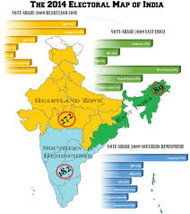 India Map Of States by Indian Elections Five Forty Three