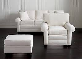 furniture ethan allen sectional sofas in white with laminate dark