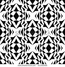 vector seamless texture black white tribal stock vector 413259985