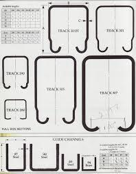 Overhead Door Track Pchenderson Industrial Door Galvanized Track And Rollers For Doors