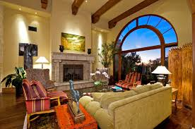 Spanish Style Home Interior Design A Vibrant Rug Adds Splash Of Color To An Inspirations And Spanish