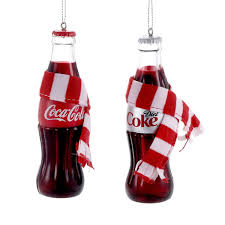 coca cola coke kurt adler ornament gift boxed