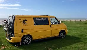 volkswagen bumblebee camper van the adventures of bumblebee
