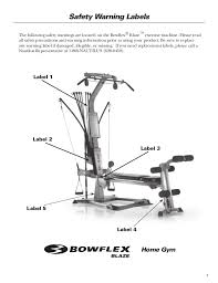 Bowflex 3 1 Bench Bowflex Blaze Workouts And Manual