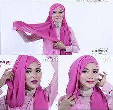tutorial hijab noura tutorial hijab unik untuk til beda saat lebaran 3