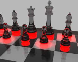 Glass Chess Boards Black Glass Chess Pieces By Rajziel On Deviantart