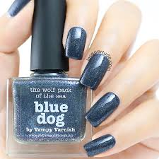 picture polish swatches u0026 review color storm storm blue dog