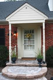 front porch designs for brick homes home design ideas