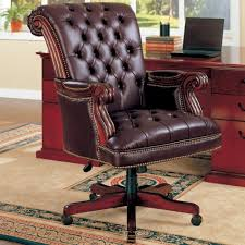 Executive Office Furniture Coaster Office Chairs Traditional Leather Executive Chair