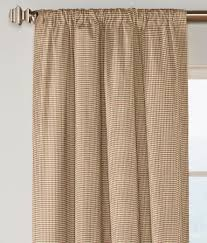 colebrook rod pocket curtains country curtains