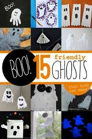 Crafts For Kids For Halloween - boo friendly ghost crafts for kids hands on as we grow