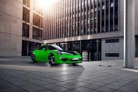 porsche 911 green 2013 techart porsche 911 carrera 4s lean emerald green machine