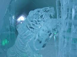 Hotel De Glace by De Glace Quebec Canada Ice Tiger
