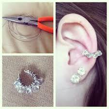 how to make ear cuffs 280 best ear cuff tutorial and ideas images on