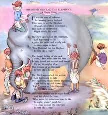 Five Blind Men And The Elephant April A Z Challenge Picture This Classic Fairy Tale Artists