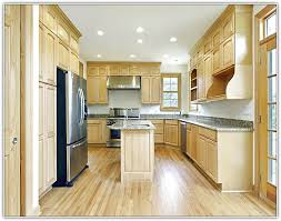 Light Wood Cabinets Kitchen White Appliances With Light Wood Cabinets Functionalities Net