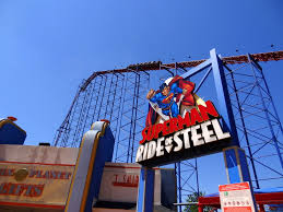 Superman Ride Six Flags Six Flags America Trip Report Coaster101
