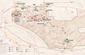 Colorado Desert Map by Best Joshua Tree Hikes For First Time Visitors