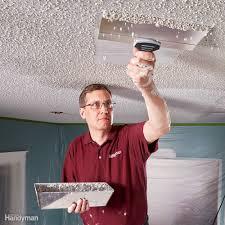 apply knock down wall texture u2014 family handyman