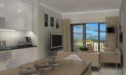 Bedroom And Kitchen New Apartments In Cape Town Ottery U0027s The Palms From R995k Market