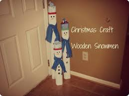 Make All From Wood Easy Diy Wooden Snowmen Tutorial Muñeco De Madera Sencillo