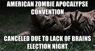 Walking Dead Meme Generator - american zombie apocalypse convention canceled due to lack of