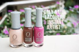 xiao vee indonesian beauty blogger orly nail lacquer u0026 instant