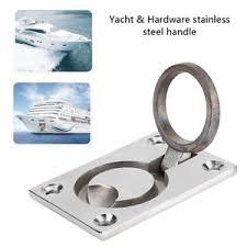 marine cabinet hardware pulls boat marine yacht ring handle flush hatch locker cabinet pull lift