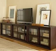 Living Room Cabinets With Glass Doors Media Cabinets With Glass Doors Foter