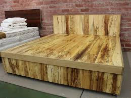 queen size bed frame with headboard platform king bed frame